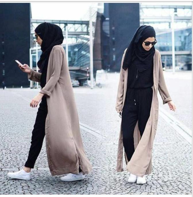 Inspirations For Classy Hijab Fashion Mamatrendy Blog