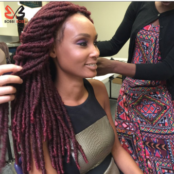 Crochet Hair Over Locs : ... Bobbi Boss New Senegal Bomba Faux Locs & Dread Locks On Crochet Braids