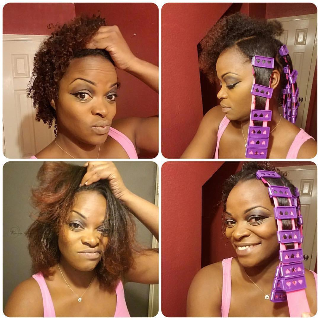 Rocking Your Natural Hair Find Out How To Straighten Your Hair Without Relaxing Or Flat Ironing Mamatrendy Blog