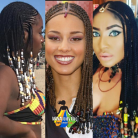 NOW TRENDING : Tribal Braids #Alisiakeysbraids